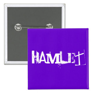 Hamlet - The Shakespeare Series Buttons