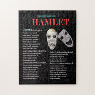 Hamlet To be or not to be Jigsaw Puzzle