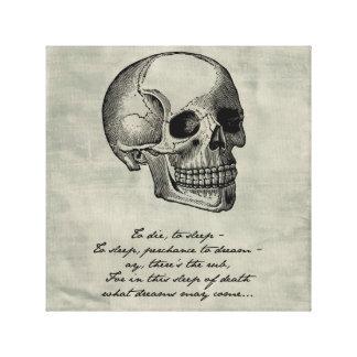 Hamlet - William Shakespeare Canvas Print