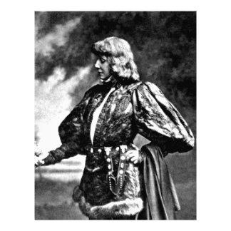 hamlet william shakespeare sarah baird 1899 skull custom letterhead