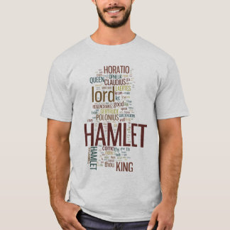 Hamlet Word Play T-shirts