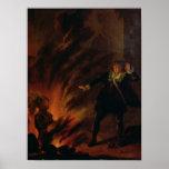 Hamlet y el fantasma de su padre posters