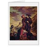 Hamlet y Horatio de Eugene Delacroix Felicitacion