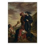Hamlet y Horatio en el cementerio Felicitacion