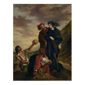 Hamlet y Horatio en el cementerio Tarjetas Postales
