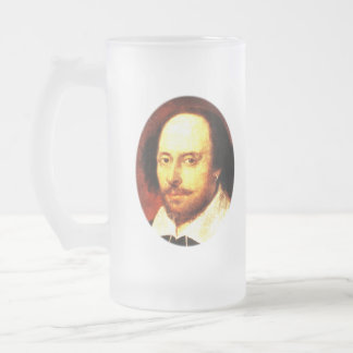 Hamlet's Daggers 16 Oz Frosted Glass Beer Mug