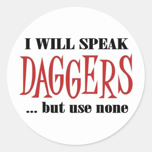 Hamlet's Daggers Stickers