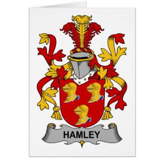 Hamley Family Crest Card