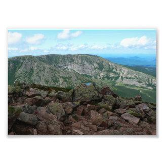Hamlin Ridge, Kathadin, parque de estado de Fotografía