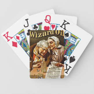 Hamlin's WIZARD OIL  Medicine PLAYING CARDS