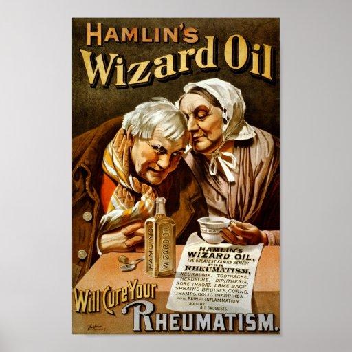 Hamlin's Wizard Oil poster