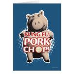 Hamm: Kung Fu. Chuleta de cerdo Felicitaciones