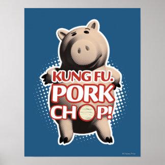 Hamm Kung Fu Chuleta de cerdo Posters