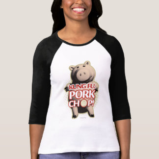Hamm: Kung Fu. Chuleta de cerdo Playera