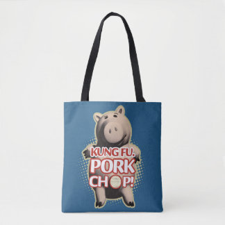 Hamm: Kung Fu. Pork Chop Tote Bag