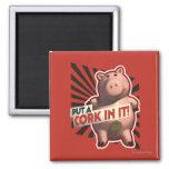 Hamm: Put a Cork in it! 2 Inch Square Magnet