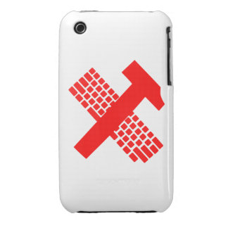 Hammer and Keyboard iPhone 3 Case-Mate Case