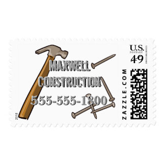 Hammer and Nails Postage