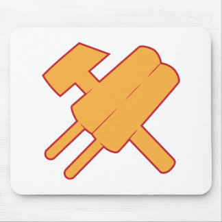 hammer and popsickle popsicle cccp ussr mousepads