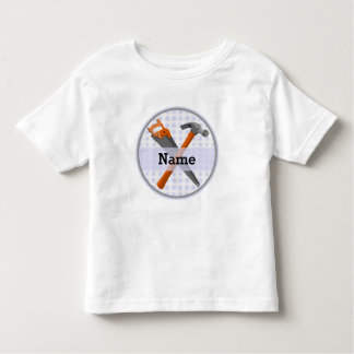 Hammer and saw design for boys toddler t-shirt