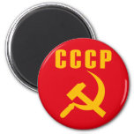 hammer and sickle cccp ussr fridge magnets