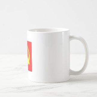 Hammer and sickle coffee mug