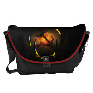 Hammer and sickle courier bag