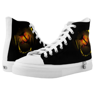 Hammer and Sickle High-Top Sneakers