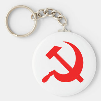 Hammer and Sickle Keychains