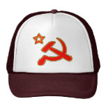 Hammer and Sickle Mesh Hats