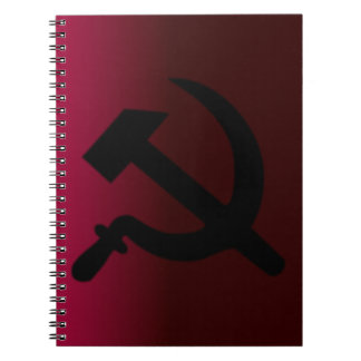 Hammer and Sickle Notebook