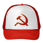 Hammer and Sickle Trucker Hats