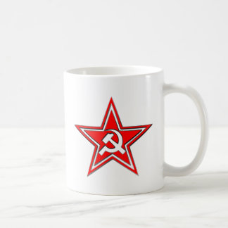 Hammer And Sickle With Star Coffee Mug