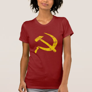 Hammer and Sickle (worn look) T Shirt