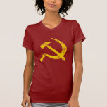 Hammer and Sickle (worn look) Tee Shirts