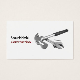 Hammer and Spanner Business Card