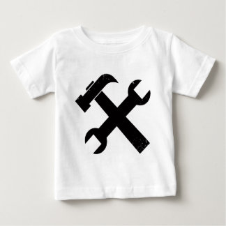 Hammer and Wrench Baby T-Shirt