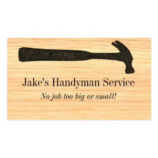 Hammer Construction Business Card