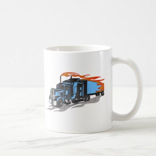 Hammer Down Trucker Classic White Coffee Mug