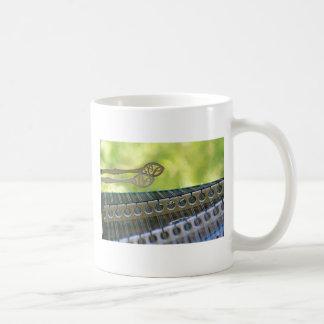 Hammer Dulcimer Classic White Coffee Mug