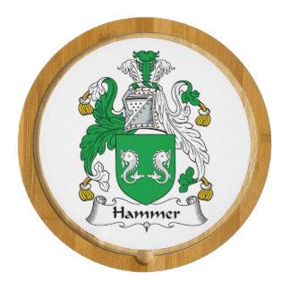 Hammer Family Crest Cheese Platter