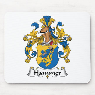 Hammer Family Crest Mouse Pad