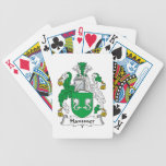 Hammer Family Crest Poker Cards