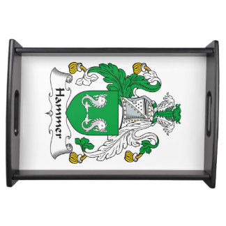 Hammer Family Crest Serving Tray