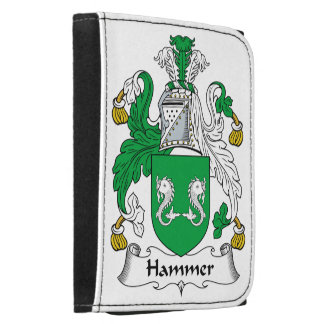 Hammer Family Crest Leather Wallet