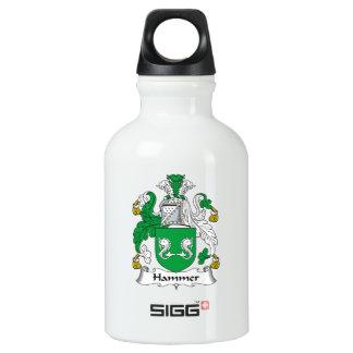 Hammer Family Crest Water Bottle