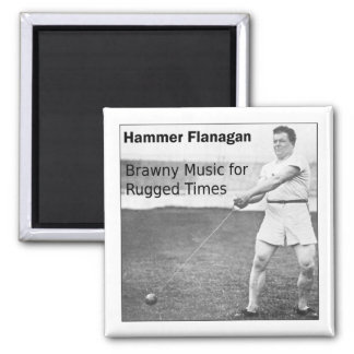 Hammer Flanagan Fridge Magnet