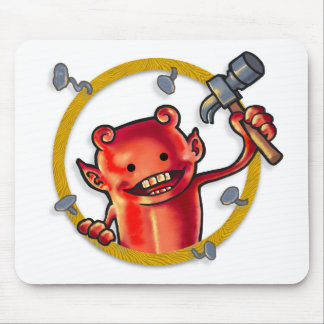 Hammer Imp Mouse Pad
