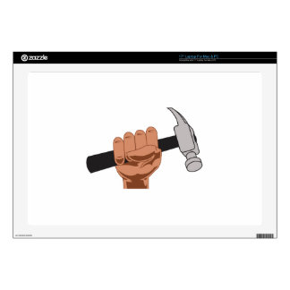 HAMMER IN HAND DECALS FOR LAPTOPS