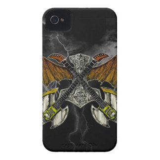 Hammer of the Gods Guitars Thor iPhone 4 Cover